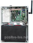 GSM 3х5 Univer ( GSM контроллер универсальный : SMS и дозвон до 3-х номеров, контроль 2-х шлейфов )