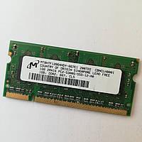 Оперативная память для ноутбука SODIMM DDR2 1Gb 533-800MHz Б/У Под ремонт и восстановление!, фото 1
