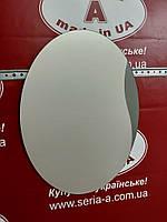 Зеркало в ванную комнату (овальное с декором) №14/Дюбель в Подарок