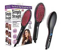 Электрическая расческа-выпрямитель для волос Simply Straight