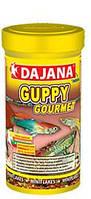 Корм для рыбок гуппи Даяна (Dajana Guppy Gourmet), хлопья 20 гр