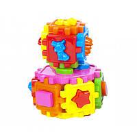 Развивающая игрушка для малышей Конструктор пазл - Сортер «Умный малыш», Украина киндервей50-106