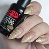 Гель-лак PNB 062 Gold Sensation прозрачный с золотыми блестками 8мл., фото 2