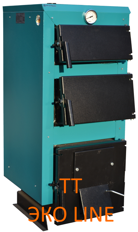 Твердотопливный котел ТТ - 35 ЭКО Line