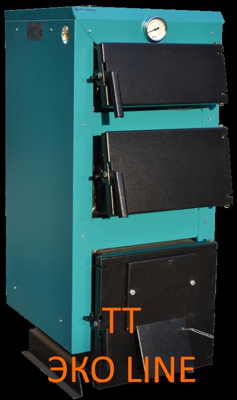 Твердотопливный котел ТТ - 40 ЭКО Line