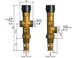 Защитный клапан DBV 1