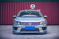 Передний бампер тюнинг Volkswagen Passat B7 2010-2014 г.в.