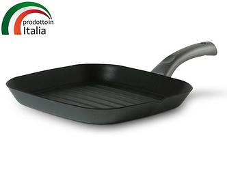 Сковорода TVS PLATINO 28х28 см, гриль