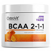 Аминокислоты OstroVit BCAA 2-1-1 200 г апельсин