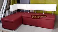 Кухонный уголок с укороченной спинкой для подоконика , фото 1