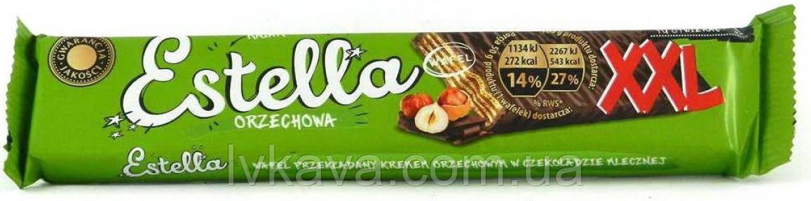 Шоколадные  вафли Estella  XXL orzechowa, 50 гр