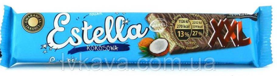 Шоколадные  вафли Estella  XXL kokosowa, 50 гр, фото 2