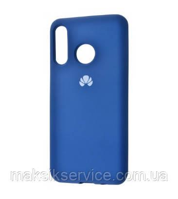 Чехол Silicone Cover Huawei Y6 2019 blue
