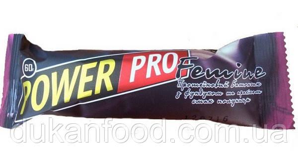 Протеиновый батончик Power Pro Femine, «Клубника», 36% белка