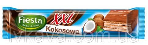 Шоколадные  вафли Fiesta XXL kokosowa, 50 гр, фото 2