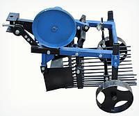 Картоплекопач вібраційний 2-ексцентриковий під мототрактор з гідравлікою (Скаут), фото 1