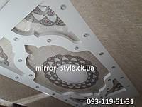 Монтаж сложного натяжного потолка с фотопечатью в Черкассах