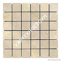 Мраморная Мозаика Полированная МКР-3П (47x47) 6 мм Beige Mix