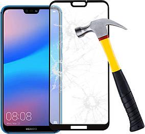Захисне скло з рамкою 2,5 D-3D Frame для Huawei Y5 2018 0.30 мм