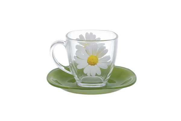 Сервиз чайный LUMINARC CARINA PAQUERETTE GREEN, 12 предметов