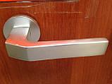 Дверная ручка на пятаках в комплекте с входной накладкой, фото 4