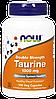NOW Taurine 1000 mg, 100 Veg Capsules