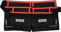 Пояс с 4 карманами для инструментов и 2 петлями для молотков  YATO