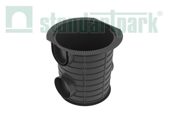 Дождеприемник S'Park ДС -25-ПП круглый пластиковый