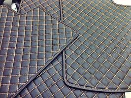 Автомобильные коврики кожаные