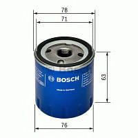 Фильтр масляный RENAULT DUSTER, BOSCH F026407022