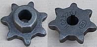 Зірочка (Z=7,d=25) одностороння Н.023.203