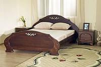 Кровати с массива натурального дерева.