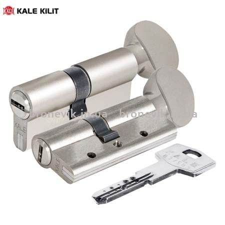 Цилиндр Kale 164 DBNE 90мм (35x10x45) никель