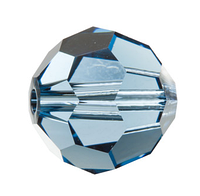 Хрустальные бусины Сваровски 5000 Denim Blue