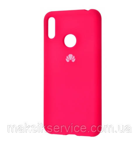 Чехол Silicone Cover Huawei Y6 2019 rose red