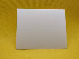 Стекло защитное, поликарбонатное (прозрачное,  90х110, 1,0мм)