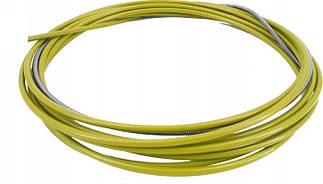 Спираль подающая стальная желтая 2,5/4,5/п.м, 123.0016, для проволоки D 1,4 - 1,6 мм, 123.0016A, A-Weld
