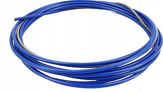 Спираль подающая стальная синяя 1,5/4,5/п.м, 123.0004, для проволоки D 0,8 - 1,0 мм, 123.0004A, A-Weld