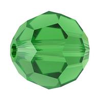 Хрустальные бусины Сваровски 5000 Fern Green