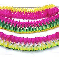 Гирлянда-растяжка 3,5 метра разноцветная