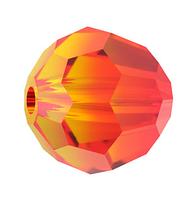 Бусины из хрусталя Сваровски 5000 Fire Opal