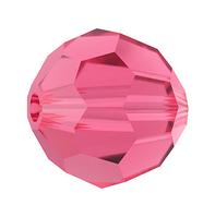 Намистини з натурального каменю Сваровскі 5000 Indian Pink