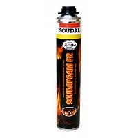 Пена огнестойкая  Soudal Soudafoam FR 750 мл