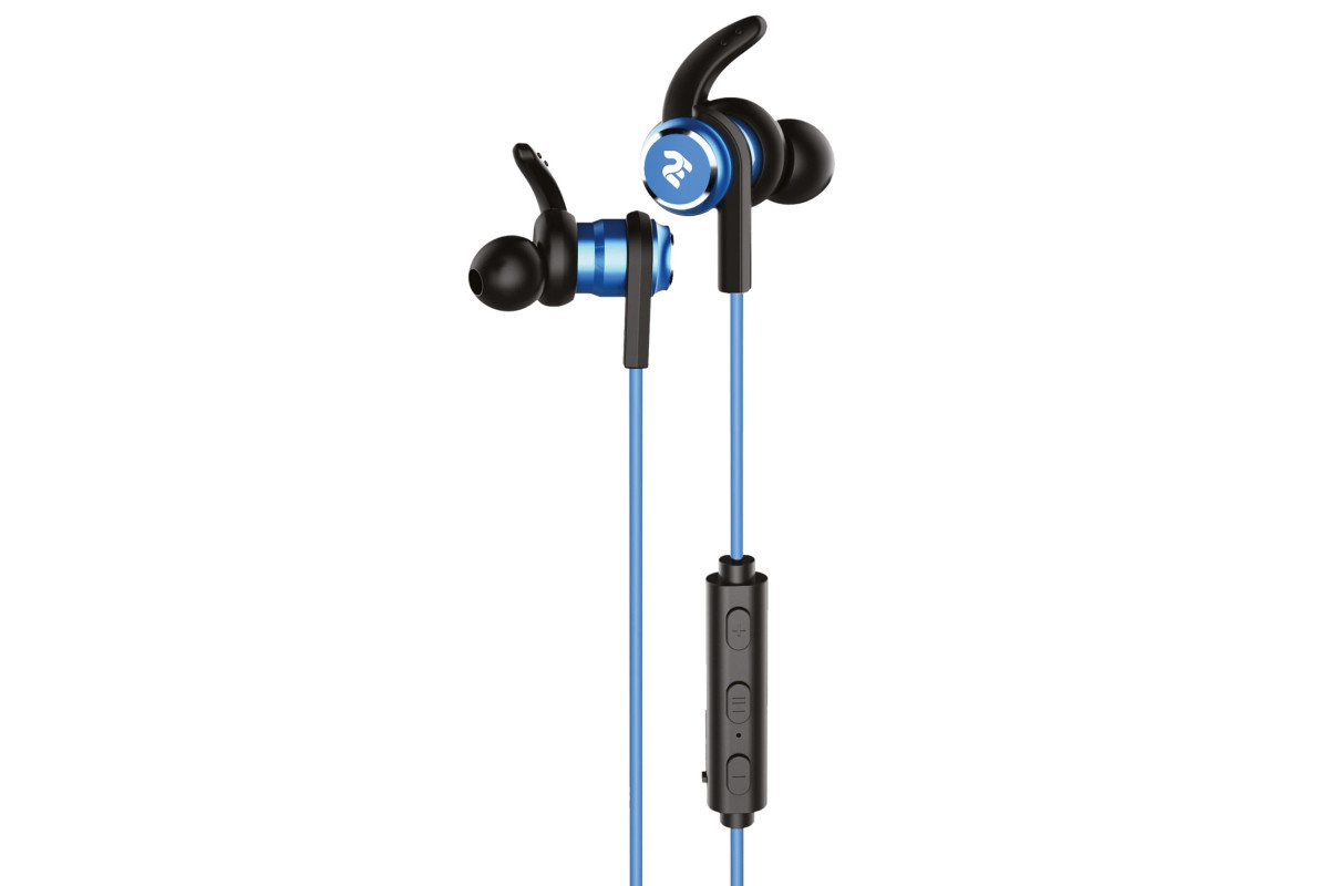 Наушники 2E S9 WiSport In Ear Waterproof Wireless Blue