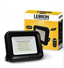 Прожектор LED 10W яскравий 800Lm кут 120° LEBRON