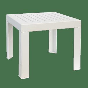 Столик для шезлонга Papatya SUDA  (белый), фото 2