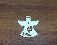 Ангелочек Фанера 65Х60Х2 мм, фото 2