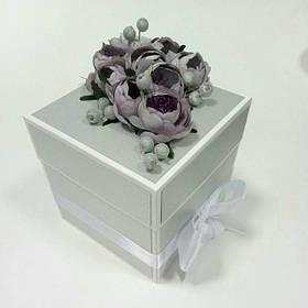 Коробочка для подарка на свадьбу, день рождения, торжество, маминых сокровищ.