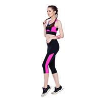 Спортивные бриджи (капри) женские для фитнеса и спорта