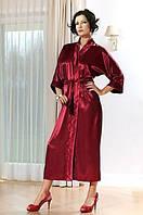 Шикарный халат шелк, длинный шелковый халатик женский. Опт, розница, Украина.